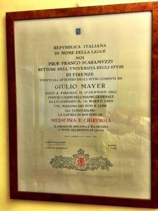 Dr Giulio Mayer